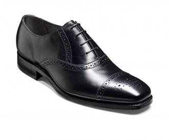 Barker Shoes - Flynn Black - SS16