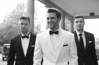 White Tuxedo Peter Posh SS16