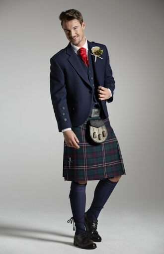 Highland Dress Cameron Ross SS16