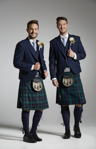 Highland Dress Cameron Ross SS16